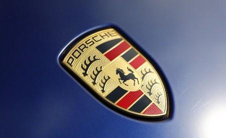 2020 Porsche Taycan Turbo (Color: Gentian Blue Metallic) Badge Wallpapers 450x275 (12)
