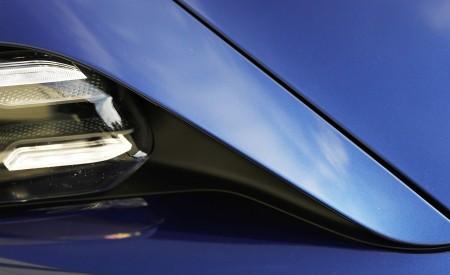2020 Porsche Taycan Turbo (Color: Gentian Blue Metallic) Detail Wallpapers 450x275 (14)