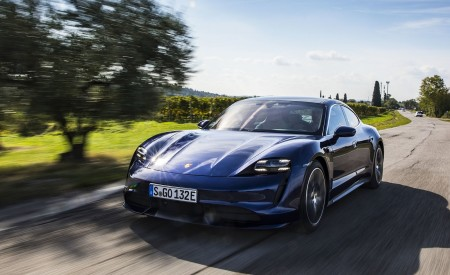2020 Porsche Taycan Turbo Wallpapers & HD Images