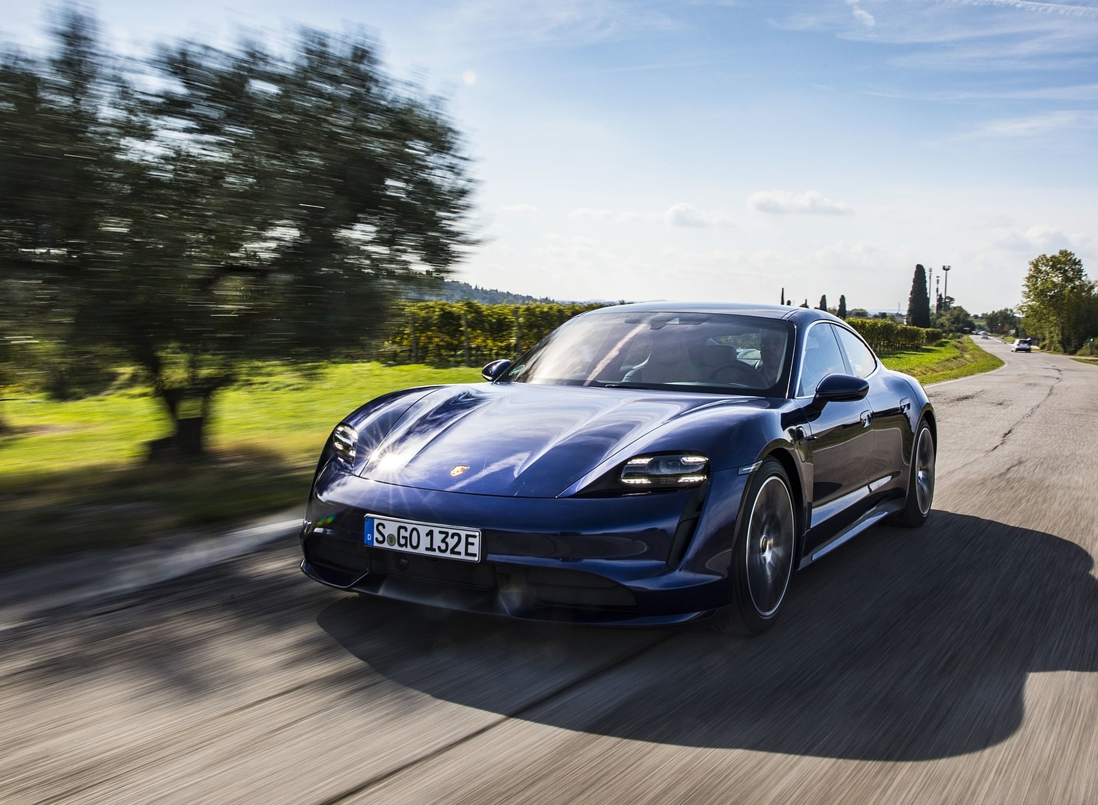 2020 Porsche Taycan Turbo Wallpapers 72 Hd Images Newcarcars