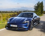 2020 Porsche Taycan Turbo (Color: Gentian Blue Metallic) Front Wallpapers 150x120 (7)