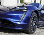 2020 Porsche Taycan Turbo (Color: Gentian Blue Metallic) Headlight Wallpapers 150x120 (11)