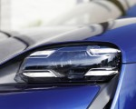 2020 Porsche Taycan Turbo (Color: Gentian Blue Metallic) Headlight Wallpapers 150x120 (15)