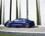 2020 Porsche Taycan Turbo (Color: Gentian Blue Metallic) Side Wallpapers 150x120 (9)