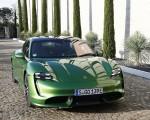 2020 Porsche Taycan Turbo (Color: Mamba Green Metallic) Front Wallpapers 150x120 (30)