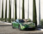2020 Porsche Taycan Turbo (Color: Mamba Green Metallic) Front Wallpapers 150x120 (29)