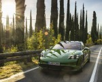 2020 Porsche Taycan Turbo (Color: Mamba Green Metallic) Front Wallpapers 150x120 (23)