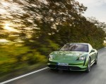 2020 Porsche Taycan Turbo (Color: Mamba Green Metallic) Front Wallpapers 150x120 (26)