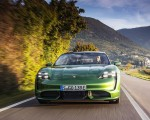 2020 Porsche Taycan Turbo (Color: Mamba Green Metallic) Front Wallpapers 150x120 (27)