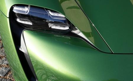 2020 Porsche Taycan Turbo (Color: Mamba Green Metallic) Headlight Wallpapers 450x275 (38)