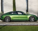 2020 Porsche Taycan Turbo (Color: Mamba Green Metallic) Side Wallpapers 150x120 (33)