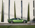 2020 Porsche Taycan Turbo (Color: Mamba Green Metallic) Side Wallpapers 150x120 (32)