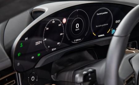 2020 Porsche Taycan Turbo Digital Instrument Cluster Wallpapers 450x275 (72)