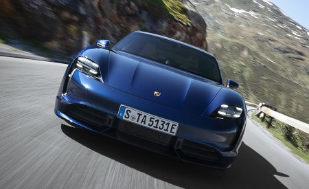 2020 Porsche Taycan Turbo Front Wallpapers 450x275 (40)