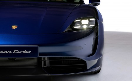 2020 Porsche Taycan Turbo Headlight Wallpapers 450x275 (61)