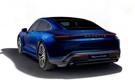 2020 Porsche Taycan Turbo Rear Three-Quarter Wallpapers 450x275 (52)