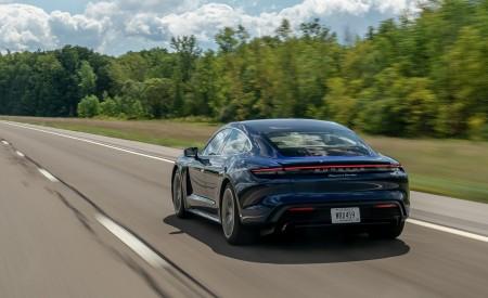 2020 Porsche Taycan Turbo Rear Three-Quarter Wallpapers 450x275 (42)
