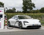 2020 Porsche Taycan Turbo S (Color: Carrara White Metallic) Charging Wallpapers 150x120 (47)