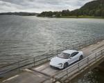 2020 Porsche Taycan Turbo S (Color: Carrara White Metallic) Front Three-Quarter Wallpapers 150x120 (38)