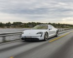 2020 Porsche Taycan Turbo S (Color: Carrara White Metallic) Front Three-Quarter Wallpapers 150x120 (29)