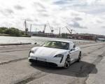 2020 Porsche Taycan Turbo S (Color: Carrara White Metallic) Front Three-Quarter Wallpapers 150x120 (39)