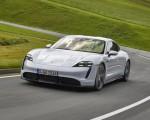 2020 Porsche Taycan Turbo S (Color: Carrara White Metallic) Front Three-Quarter Wallpapers 150x120 (30)