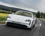 2020 Porsche Taycan Turbo S (Color: Carrara White Metallic) Front Three-Quarter Wallpapers 150x120 (41)