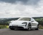 2020 Porsche Taycan Turbo S (Color: Carrara White Metallic) Front Three-Quarter Wallpapers 150x120 (42)