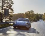 2020 Porsche Taycan Turbo S (Color: Carrara White Metallic) Front Wallpapers 150x120 (32)