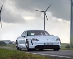 2020 Porsche Taycan Turbo S (Color: Carrara White Metallic) Front Wallpapers 150x120 (44)