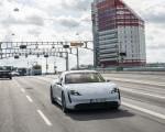 2020 Porsche Taycan Turbo S (Color: Carrara White Metallic) Front Wallpapers 150x120 (33)