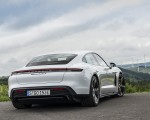 2020 Porsche Taycan Turbo S (Color: Carrara White Metallic) Rear Wallpapers 150x120 (46)