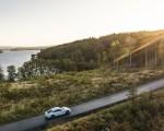 2020 Porsche Taycan Turbo S (Color: Carrara White Metallic) Side Wallpapers 150x120 (35)