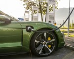 2020 Porsche Taycan Turbo S (Color: Mamba Green Metallic) Central Console Wallpapers 150x120 (24)