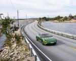 2020 Porsche Taycan Turbo S (Color: Mamba Green Metallic) Front Three-Quarter Wallpapers 150x120 (3)