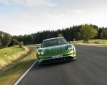 2020 Porsche Taycan Turbo S (Color: Mamba Green Metallic) Front Wallpapers 150x120 (2)