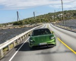 2020 Porsche Taycan Turbo S (Color: Mamba Green Metallic) Front Wallpapers 150x120 (5)