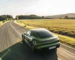 2020 Porsche Taycan Turbo S (Color: Mamba Green Metallic) Rear Three-Quarter Wallpapers 150x120 (6)