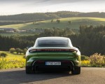 2020 Porsche Taycan Turbo S (Color: Mamba Green Metallic) Rear Wallpapers 150x120 (16)