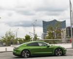 2020 Porsche Taycan Turbo S (Color: Mamba Green Metallic) Side Wallpapers 150x120 (8)