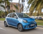 2020 Smart EQ ForFour Passion Line (Color: Steel Blue) Front Three-Quarter Wallpapers 150x120 (45)