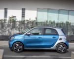 2020 Smart EQ ForFour Passion Line (Color: Steel Blue) Side Wallpapers 150x120 (50)