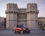 2020 Smart EQ ForTwo Cabrio Prime Line (Color: Carmine Red) Front Three-Quarter Wallpapers 150x120 (32)