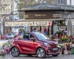 2020 Smart EQ ForTwo Cabrio Prime Line (Color: Carmine Red) Front Three-Quarter Wallpapers 150x120 (35)