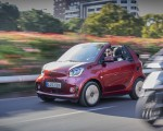 2020 Smart EQ ForTwo Cabrio Prime Line (Color: Carmine Red) Front Three-Quarter Wallpapers 150x120 (13)