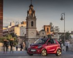 2020 Smart EQ ForTwo Cabrio Prime Line (Color: Carmine Red) Front Three-Quarter Wallpapers 150x120 (36)
