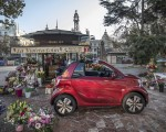 2020 Smart EQ ForTwo Cabrio Prime Line (Color: Carmine Red) Side Wallpapers 150x120 (41)