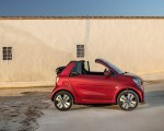 2020 Smart EQ ForTwo Cabrio Prime Line (Color: Carmine Red) Side Wallpapers 150x120 (39)