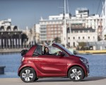 2020 Smart EQ ForTwo Cabrio Prime Line (Color: Carmine Red) Side Wallpapers 150x120 (30)