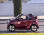 2020 Smart EQ ForTwo Cabrio Prime Line (Color: Carmine Red) Side Wallpapers 150x120 (6)